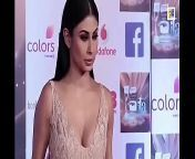 Mouni Roy looking hot in low neck dress boobs expose from bf xxxxxx mouni roy