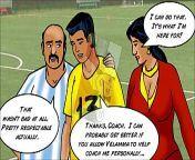 Velamma Episode 43 - Sexy Assistant Coach Velamma from savita giving her choot to her husband39s friend part 2xxx anjali ray