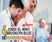 LIL Humpers - Lil Doctor Jordi Fucks big tit nurse Brooklyn Blue from jordi kitchen stepmom