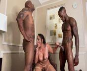 Pressure & Prince Yashua Destroy Latina SUPERFREAK Carmela Clutch In Rough Sex Gauntlet from sammyy02k big ass