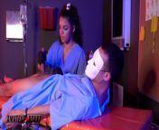 Nurse Ella Cruz & Dr. Lulu Chu Dominate Patient - Amateur Boxxx from bd doctor and nurse sex 3gp com