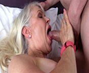 Dirty Old Granny Lady Sextasy Fucks Toyboy Big Dick in Stockings! Hot Gilf from www xxx dac v