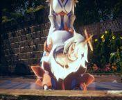 【LUMINE】【FUTANARI 3D】【PAIMON】【GENSHIN IMPACT】【HS2】 from paimon